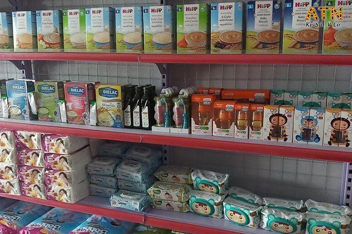 Lưu ý khi sắp xếp hàng hóa trong siêu thị