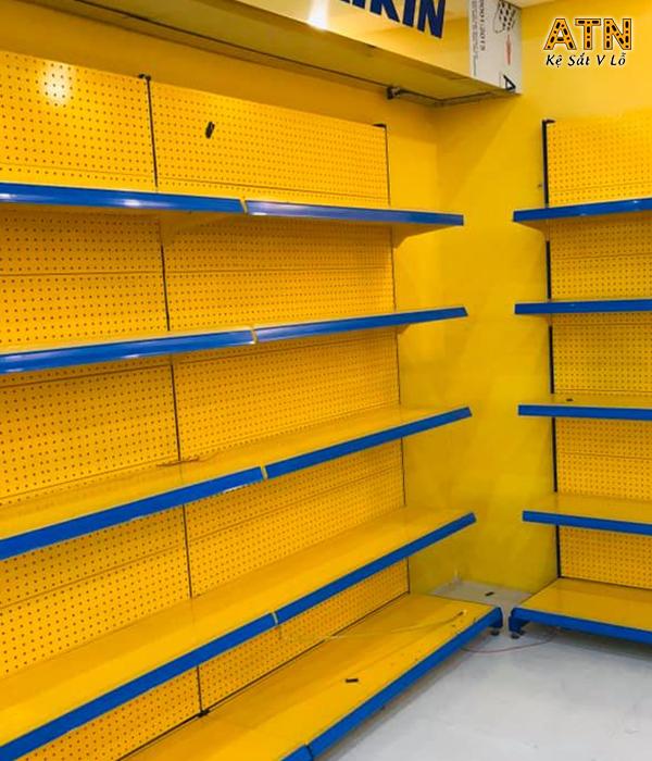 Xưởng cung cấp kệ siêu thị màu vàng ATN02 giá rẻ tại TPHCM