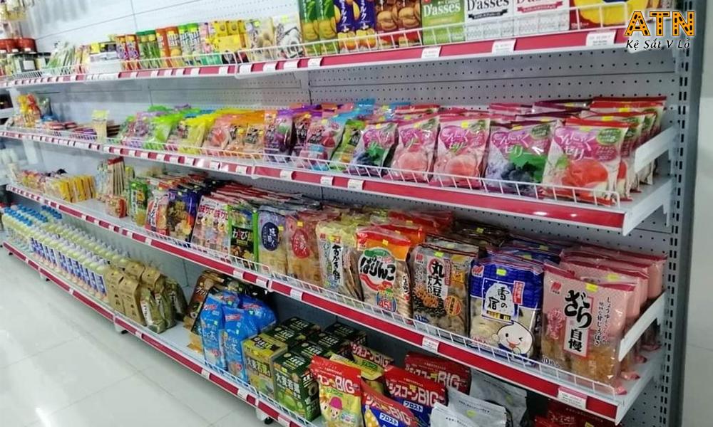Kệ để hàng siêu thị với nhiều kích thước