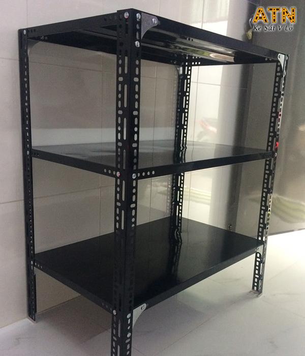 Địa chỉ cung cấp kệ sắt v lỗ đa năng 3 tầng giá rẻ tại TPHCM