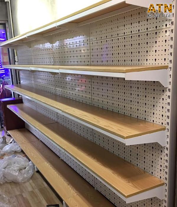 Đia chỉ cung cấp kệ siêu thị tôn đục lỗ giá rẻ