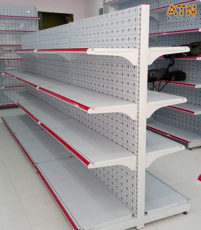 Cấu tạo chi tiết của kệ siêu thị