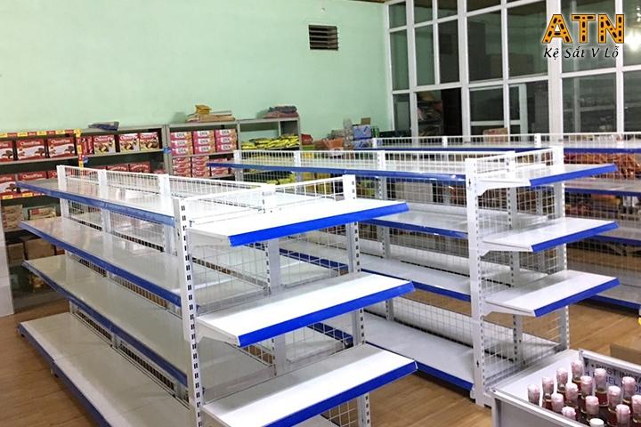 Thanh lý kệ siêu thị giá tốt chất lượng cao