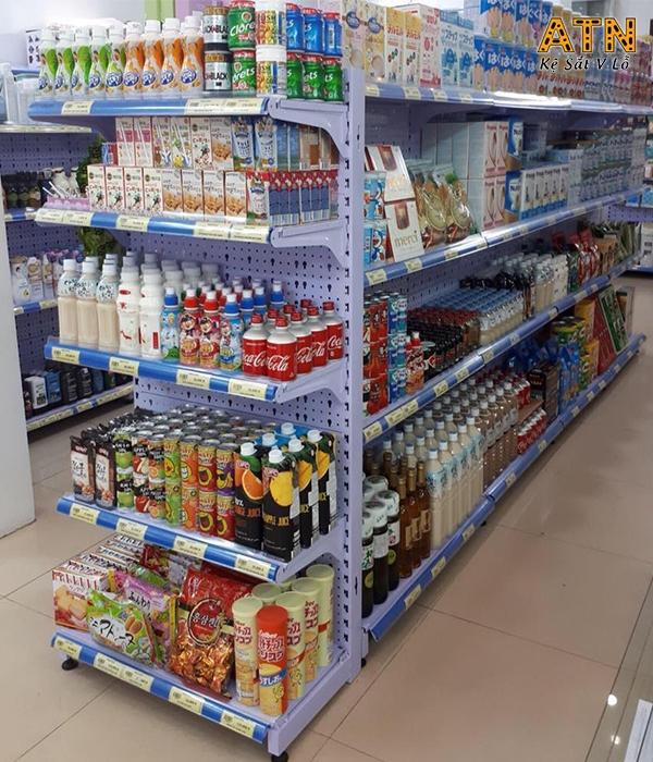 Kệ để hàng trong siêu thị giá rẻ